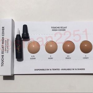 🔝4 for $15💛YSL Touché Eclat High Cover Concealer